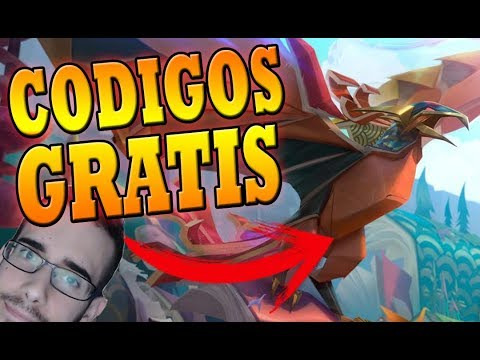 😮 OS REGALO CODIGOS DE ANIVIA SKIN ORIGAMI + CHROMA VERDE | League of Legends | Drake Rajanj thumbnail
