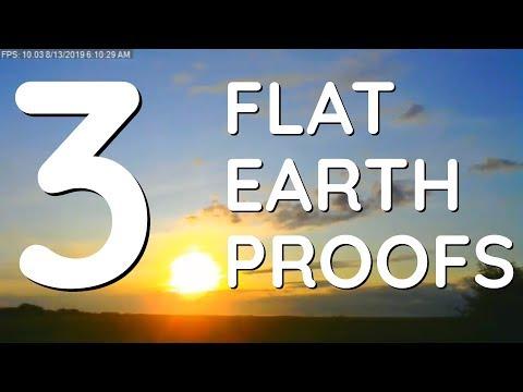 3 Fab Flat Earth Proofs: Sunrise, Eratosthenes Sun Angles, Mirages thumbnail