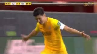 Обзор тяжелейшего матча, в котором «Кайрат» прошел «АЗ Алкмаар» в Лиге Европы