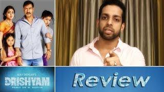Drishyam Hindi Movie Review by Salil Acharya   Ajay Devgn, Shriya Saran, Tabu   Rating