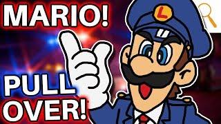Luigi was a COP!? Mario, BEWARE!