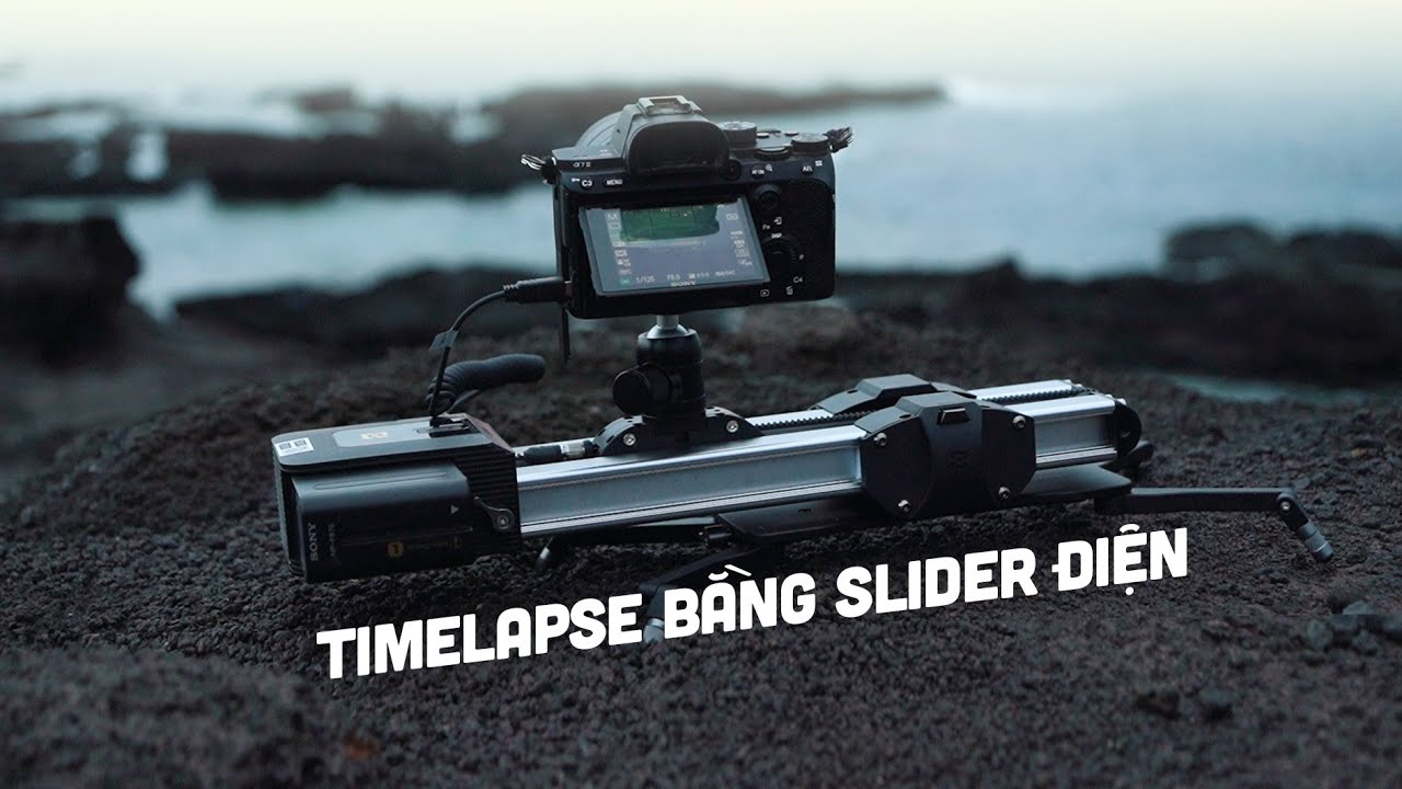 Timelapse bằng slider điện nhỏ gọn ZEAPON Motorized Micro 2