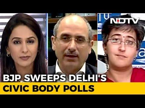 BJP Sweeps Delhi Municipal Polls: What Next For AAP?