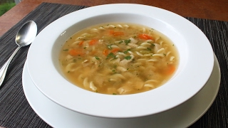 One-Step Chicken Soup - Dump and Simmer Chick...