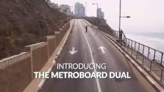 Cliff Climb on the Metroboard Dual Drive Electric Longboard