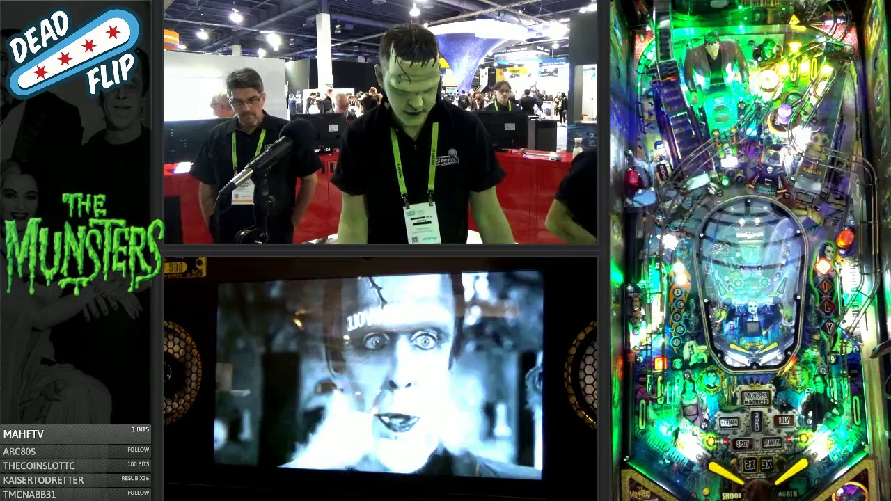 The Munsters Pinball (LE) Reveal PT1