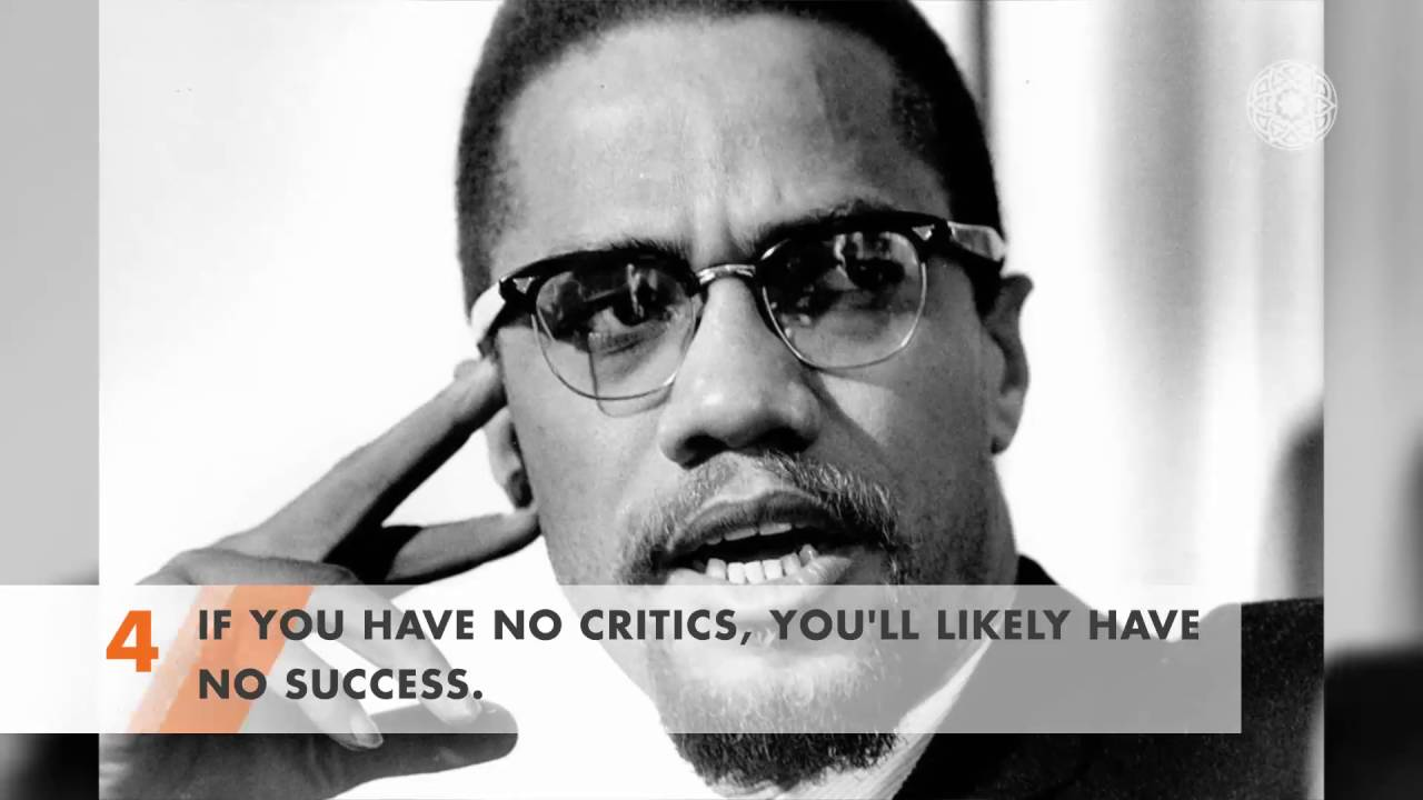 5 of the Best Quotes from Malcolm X Vol 1 - YouTube