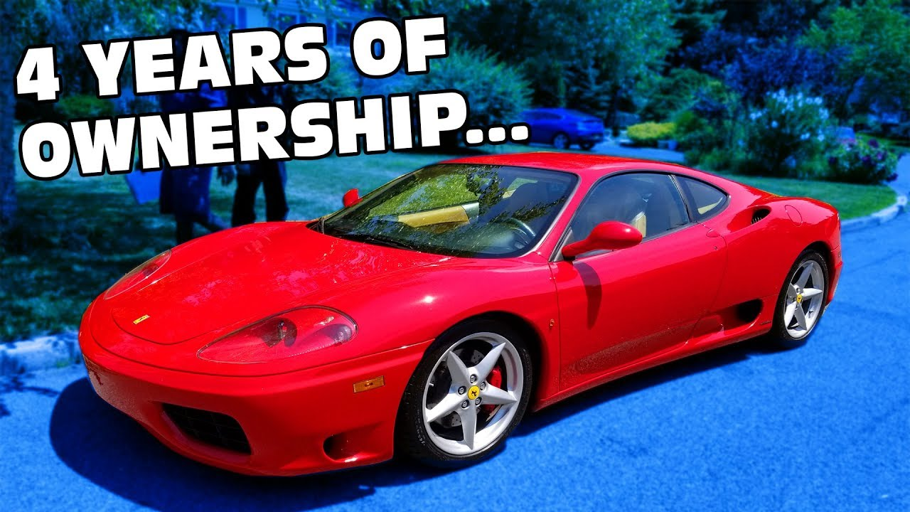 Ferrari 360 Cost Of Ownership Over 4 Years