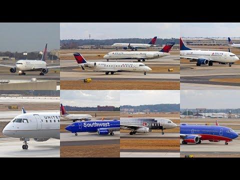 Plane Spotting - Hartsfield-Jackson Atlanta International Airport