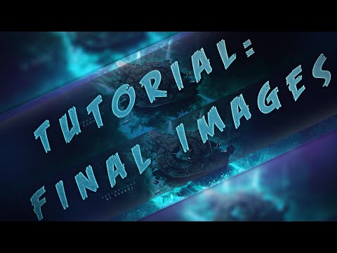 TUTORIAL - Final Image Touchups