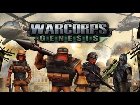 WarCom Genesis (Updated) - iPhone & iPad Gameplay Video