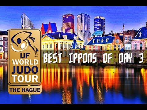 Best ippons in day 3 of Judo Grand Prix The Hague 2017