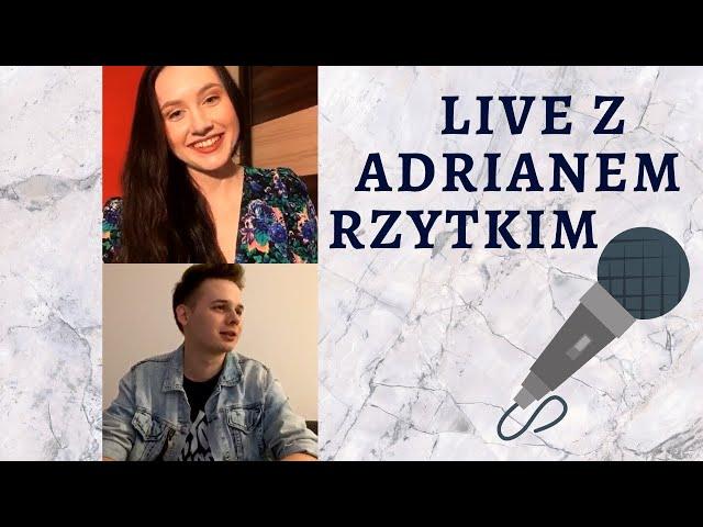 #muza #teledysk #tokiohotel , czyli #LIVE z Adrianem Rzytkim