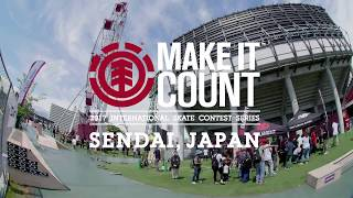 Make It Count 2017 Japan official website http://www.elementjapan.c...