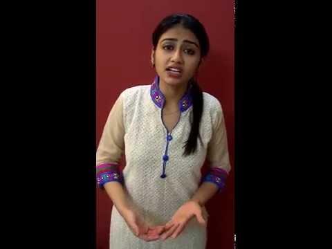 chetna bhanushali audition clip/video for tv serial