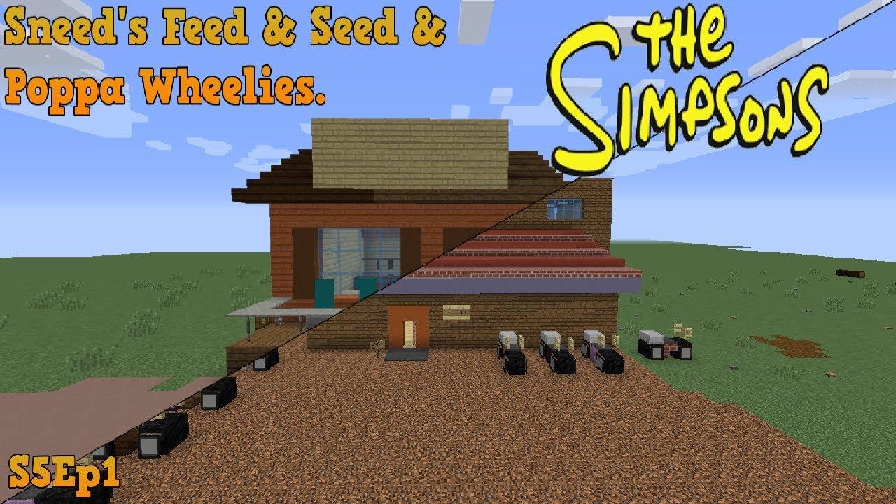minecraft springfield s05 sneed s feed seed poppa wheelies