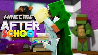 Minecraft - AFTER SCHOOL - LITTLE LIZARD'S FIRST KISS!?