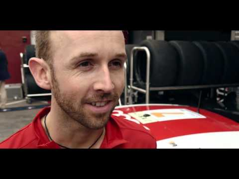 2015 GP Macau // interview with Rene Rast driving new Audi R8 LMS car