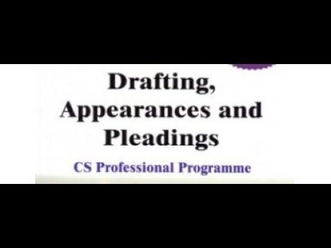 Concept of Drafting & Conveyancing (Hindi)