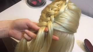 Коса на косе. Видео урок.