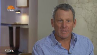Lance Armstrong discusses doping in candid interview on 'Today'