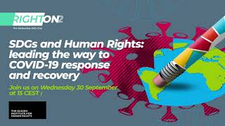 RightOn 12 (promo): SDGs and Human Rights: [Right On Web Chat]