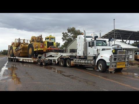Mining Equipment Kulgera NT Australia Heavy Haulage Overdimensional Machinery  Australia Wide