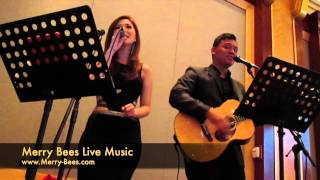 Merry Bees Live Music - Just The Way You Are (Meryl Joan Lee & John Lye)