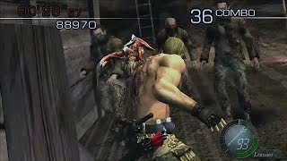【BIOHAZARD4 HDリマスター】ザ・マーセナリーズ クラウザーで砦をPLAYしました!! PS4