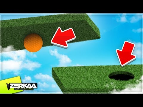 MESSED UP GRAVITY MINIGOLF! (Golf It)