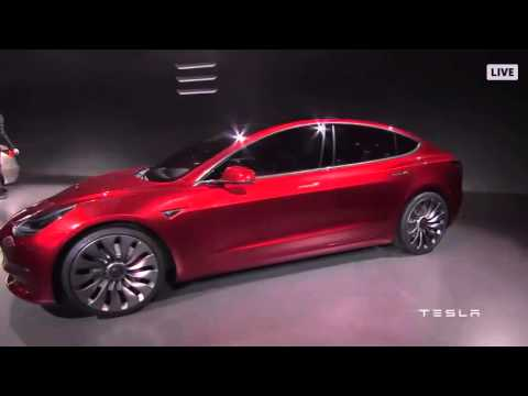 Tesla announces new, smaller electric vehicle named Model 3