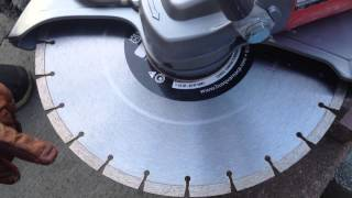 K3000 Husqvarna Wet Dry Saw with the WT 15 Water Pump Discussion