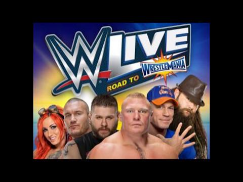 WWE LIVE MSG 2017 ALL ENTRANCES