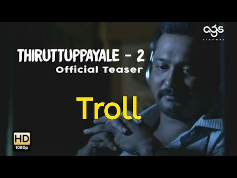 Thiruttu Payale 2 Movie Official Trailer |Troll video|