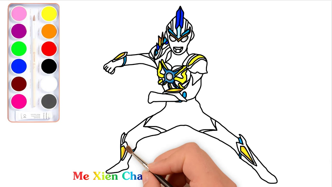 Ultraman Orb Trinity Ultraman Coloring Pages Youtube