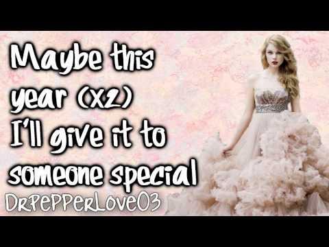 Taylor Swift - Last Christmas (With Lyrics)