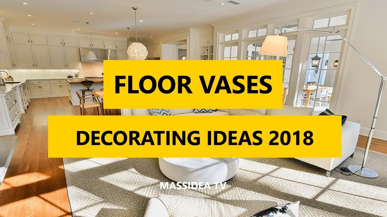 45 Awesome Decorating Ideas With Floor Vases 2018