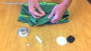 Снятие магнитной бирки с одежды с помощью магнита(, 2014-06-22T18:59:40.000Z)