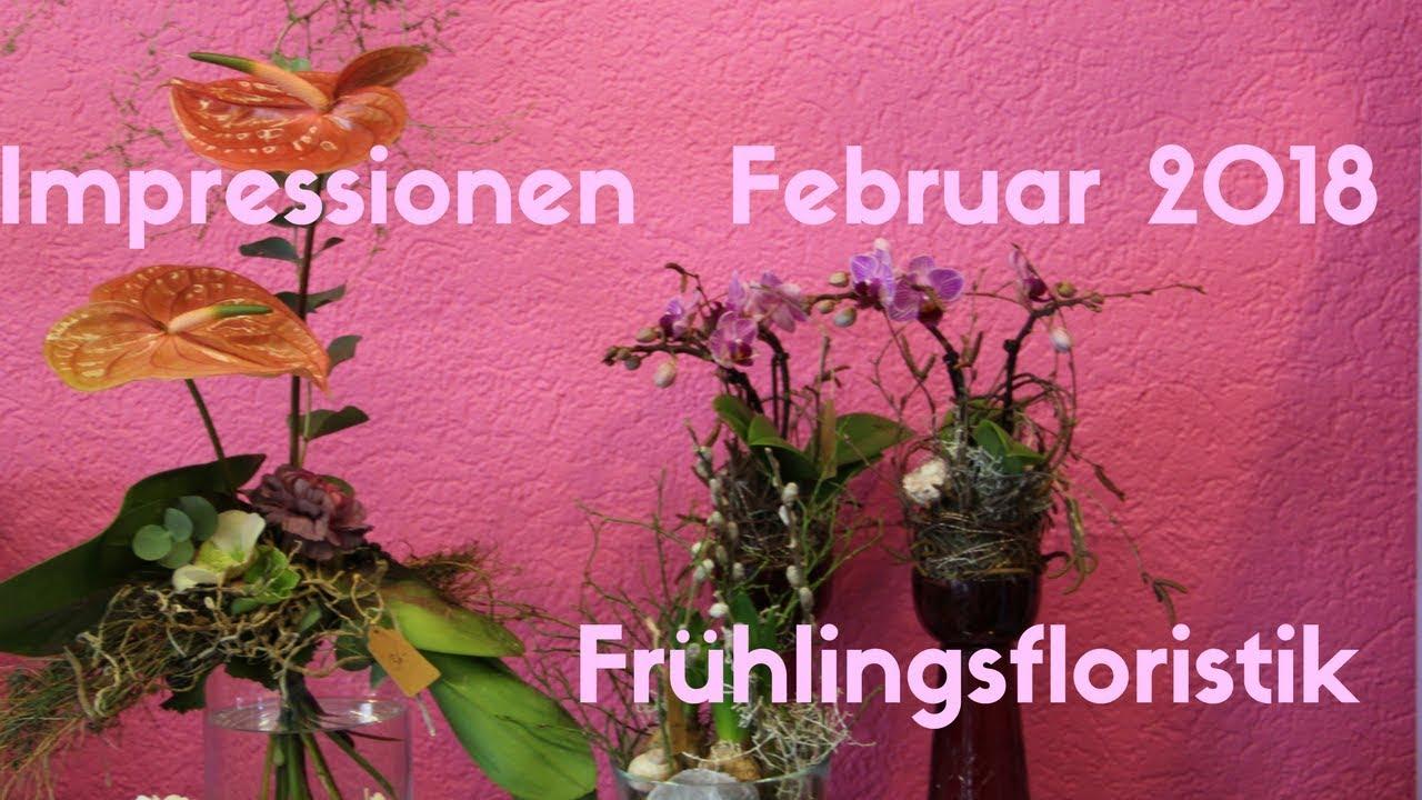 Deko Flora Line ladenrundgang februar 2018 frühlingsfloristik flora line