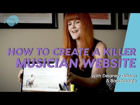 What Makes a Great Musician Website?