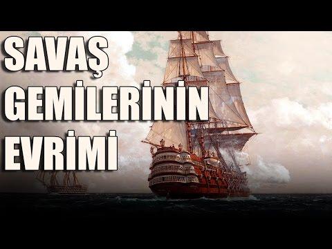 TEKNE TÜRLERİ(1. Bölüm): Başlangıç - Yelkenliden Zırhlıya