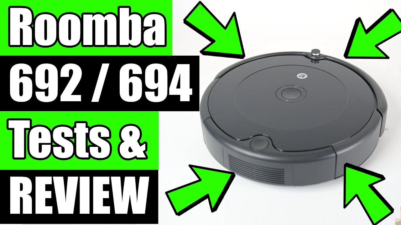 Download Roomba 692 / 694 Robot Vacuum REVIEW