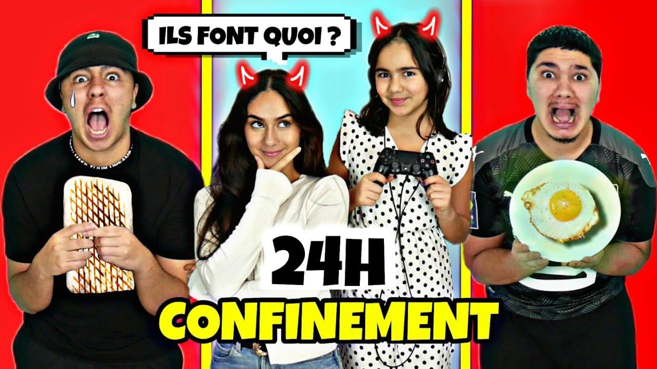NOS SOEURS CONTRÔLENT NOTRE CONFINEMENT PENDANT 24H ! (UN ENFER)