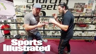 UFC Fighters Vs. Boxers: Breaking Down Their Differences In VR | 360 Video | Sports Illustrated thumbnail