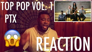 TOP POP, VOL. I MEDLEY - Pentatonix | REACTION