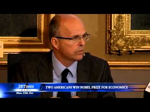 Two Americans win Nobel prize for economics