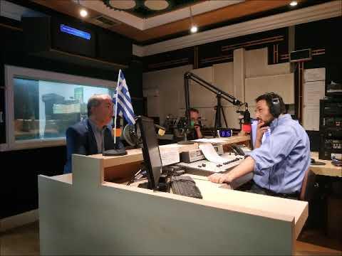 Συνέντευξη Ν. Λυγερού στο Hellas FM - Hellenic Radio με τον Δ. Φιλιππίδη, New York 11/10/2018