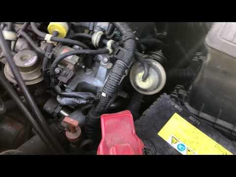 Запуск и работа ДВС 3CTE Toyota IPSUM CXM10
