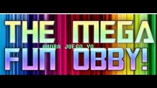 ESTE JUEGO TIENE MAS DE 600 NIVELES!!- Mega Fun Obby - Roblox