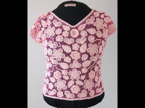 "Презентация блузки ""Розовый свет"""